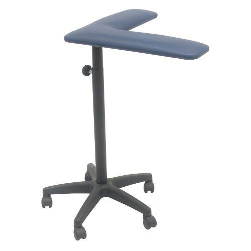 "TK Manufacturing Mobile Blood Drawing (Phlebotomy) Padded Dark Blue Vinyl Curved Arm Post by TK Manufacturing. $199.95. TK Manufacturing has the solution to occasional blood drawing needs. We have taken our padded arm off our chair and mounted it on an height adjustable mobile base. The curved arm allows for easy use and arm angel. This mobile blood draw arm can be height adjusted from 28"" to 38"" to accommodate a wide range of users. Our padded arms are upholstered in med..."