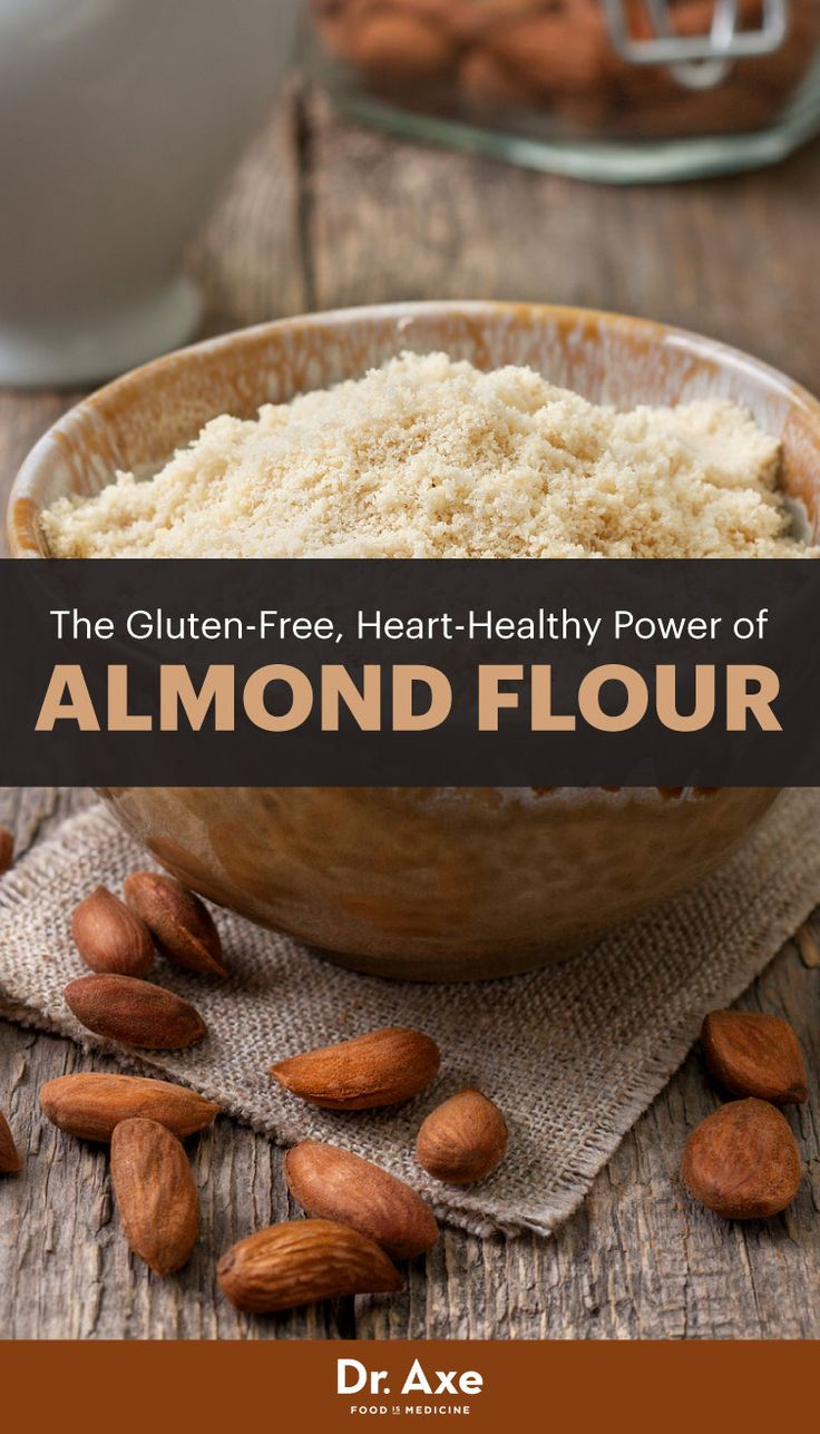 As we know, almonds nutrition is highly impressive. The awesome thing about almond flour is that it's simply ground-up almonds so it gives you all of the original almond's health benefits.