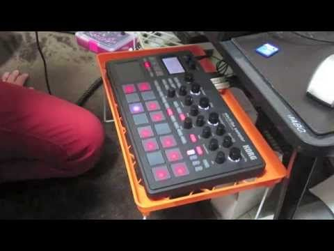 Ok, so here is Part 1 of my sampling demos for the Korg Electribe Sampler. This part is going to focus on sampling from an SD card. We'll sample a one shot h...