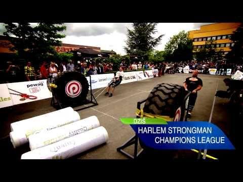 Harlem Strongman Champions League - Holandia (TVR) - YouTube