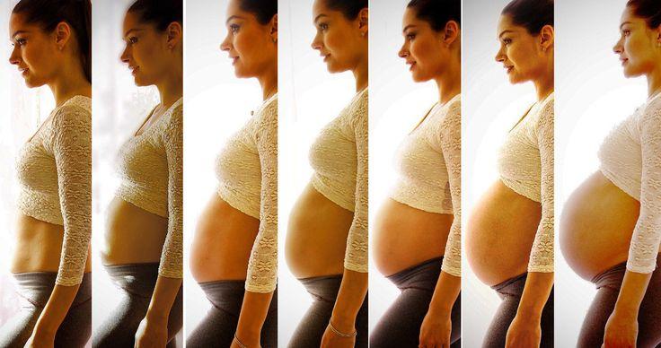 Transformações do nosso corpo na gravidez