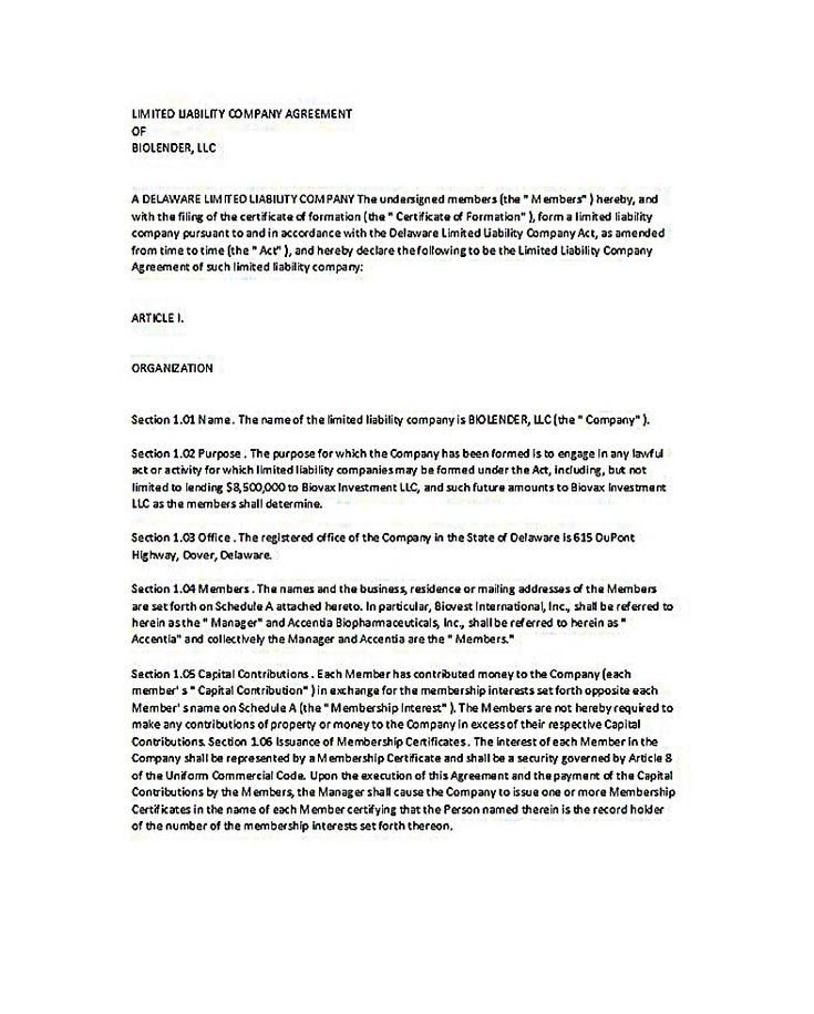 Investment Agreement Template Eliolera – Investment Agreement Doc