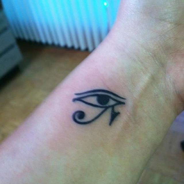 Eye of Ra tattoo... simple i like it