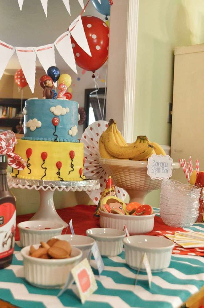 Curious George  Birthday Party Ideas | Photo 1 of 43