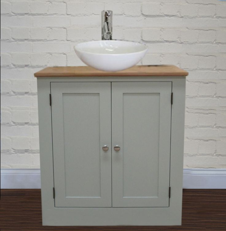 Marvelous Bathroom Vanity Unit Furniture 600 Wide Wash Stand Oak Cabinet U0026 White Basin