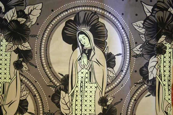 Religious fabric  #Madonna #religion