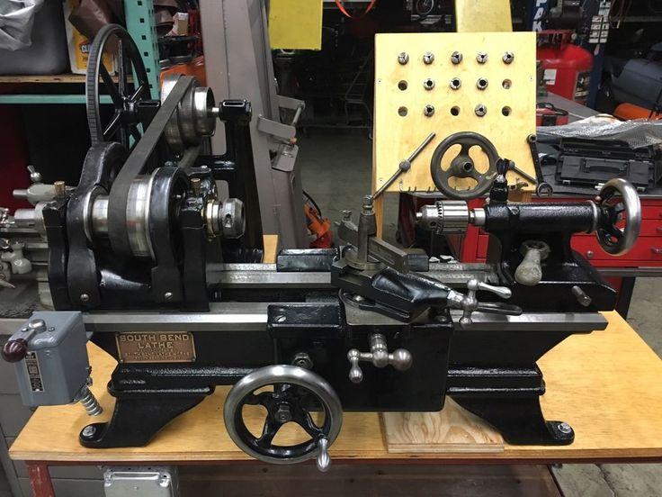 "South Bend Lathe 1927 20-XB 9""swing 2 1/2 Bed. Piece Of Art"