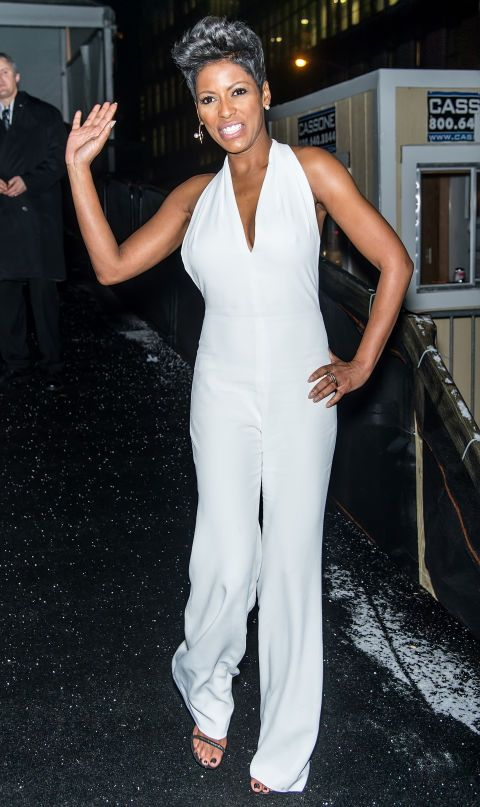 We recognize the most frozen people on the streets at fashion week, including Tamron Hall.