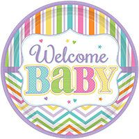 Baby Shower Girl Tableware | Wholesale Party Supplies