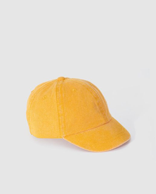 Gorra de bebé Brotes en amarillo en 2019  83680a8484c