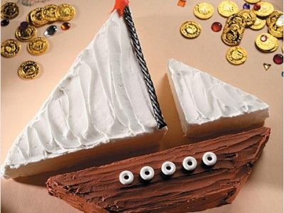 How to Make a Sailboat Birthday Cake - iVillage