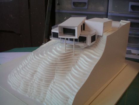 Architectural foam board models for Foam panel house