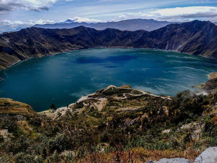 Quilotoa - Ecuador Great volcano, amazing place to visit