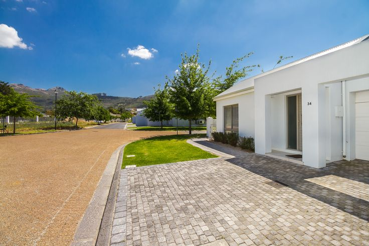 A view towards Paarl Mountain from this Paarl property situated on the Vrede Estate.