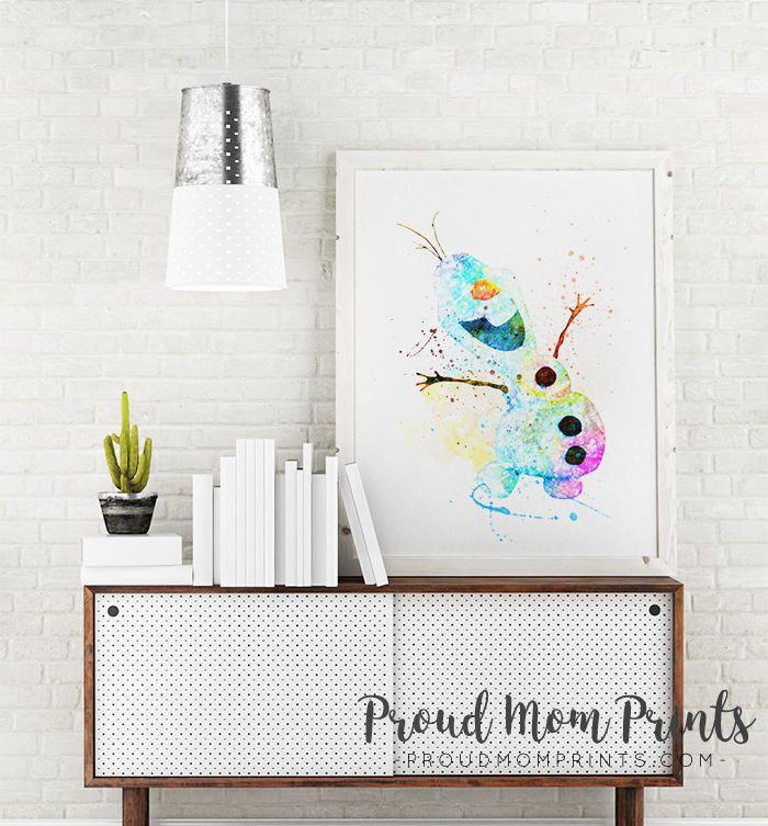 Frozen Wall Decor, Frozen Nursery Art, Frozen Poster, Frozen, Disney Frozen