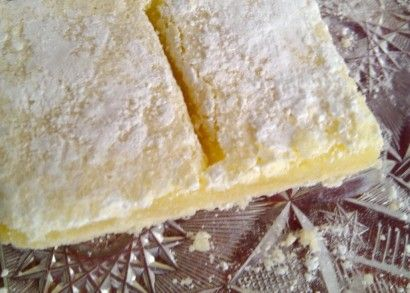 BIG batch of lemon squares - make in a sheet cake pan