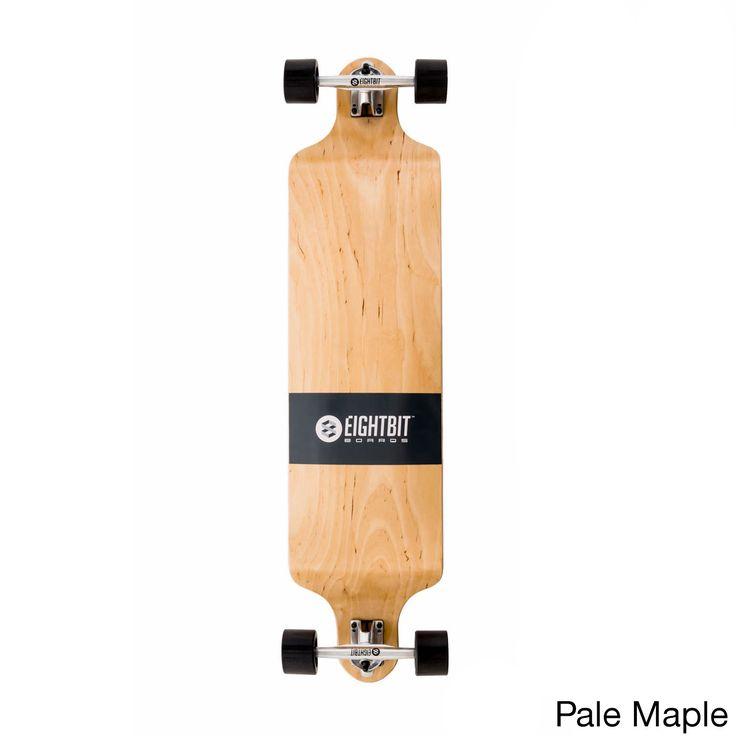 Eightbit 41-inch Drop Deck Longboard