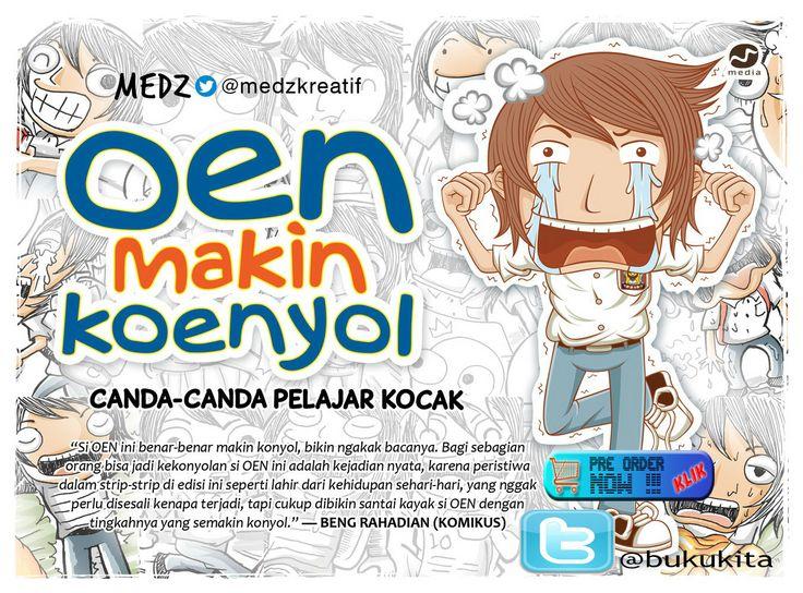 "#BukuBaru PRE ORDER ""Oen Makin Koenyol - Canda-canda Pelajar Kocak"" cc @oenkoenyol @medzkreatif @mokabuku"