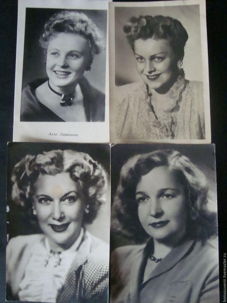Маме, советские открытки кинозвезд