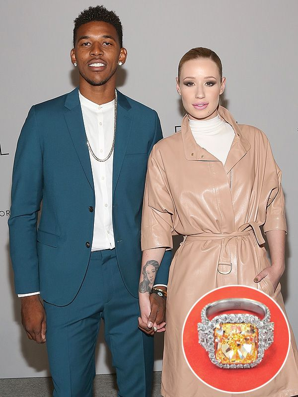 Iggy Azalea's Huge Engagement Ring from Nick Young: 'He Was Determined to Create the Perfect Ring For Her' http://stylenews.peoplestylewatch.com/2015/06/02/iggy-azalea-engagement-ring-from-nick-young-photos/