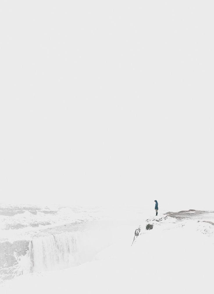 Staring into the abyss /// Dettifoss © Adam Biernat