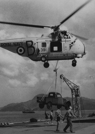 The 2CV Pick-ups supplied to the Royal Navy