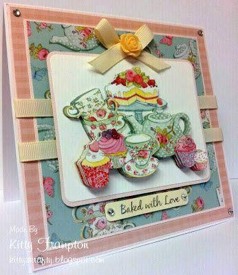 Kittys Krafty Blog: Cupcake Cards