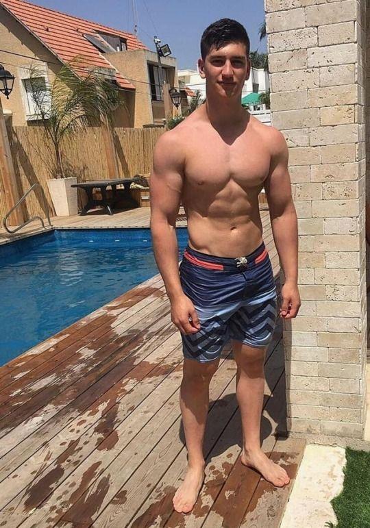 Boy gay hot pool