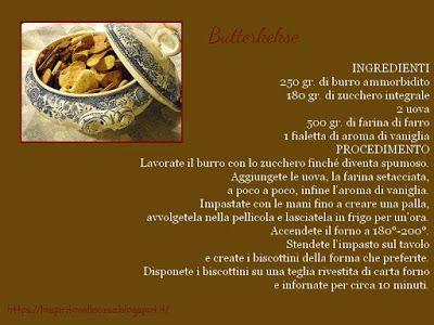 Tre ricette di biscotti natalizi: Butterkekse.