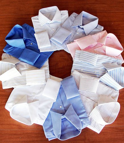 Men's Dress Shirt Fabric and Colors
