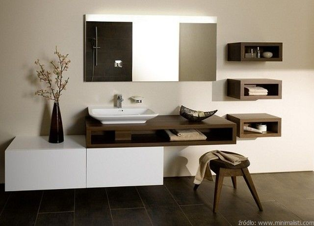 Picture Gallery For Website Modern bathroom cabinets by TOTO