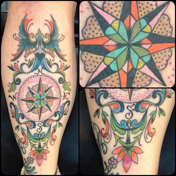 Featured artist: Christy Alexander // Blue Flame Tattoo, Raleigh, NC ...
