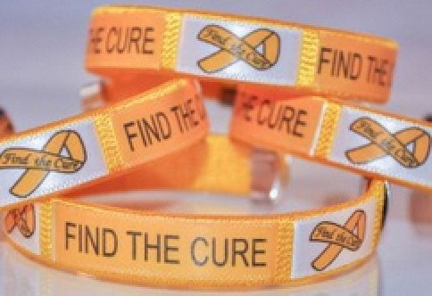 Childhood Cancer Find a Cure Gold Cuff- September is Childhood Cancer month! by WNBrunk on Etsy https://www.etsy.com/listing/246301833/childhood-cancer-find-a-cure-gold-cuff