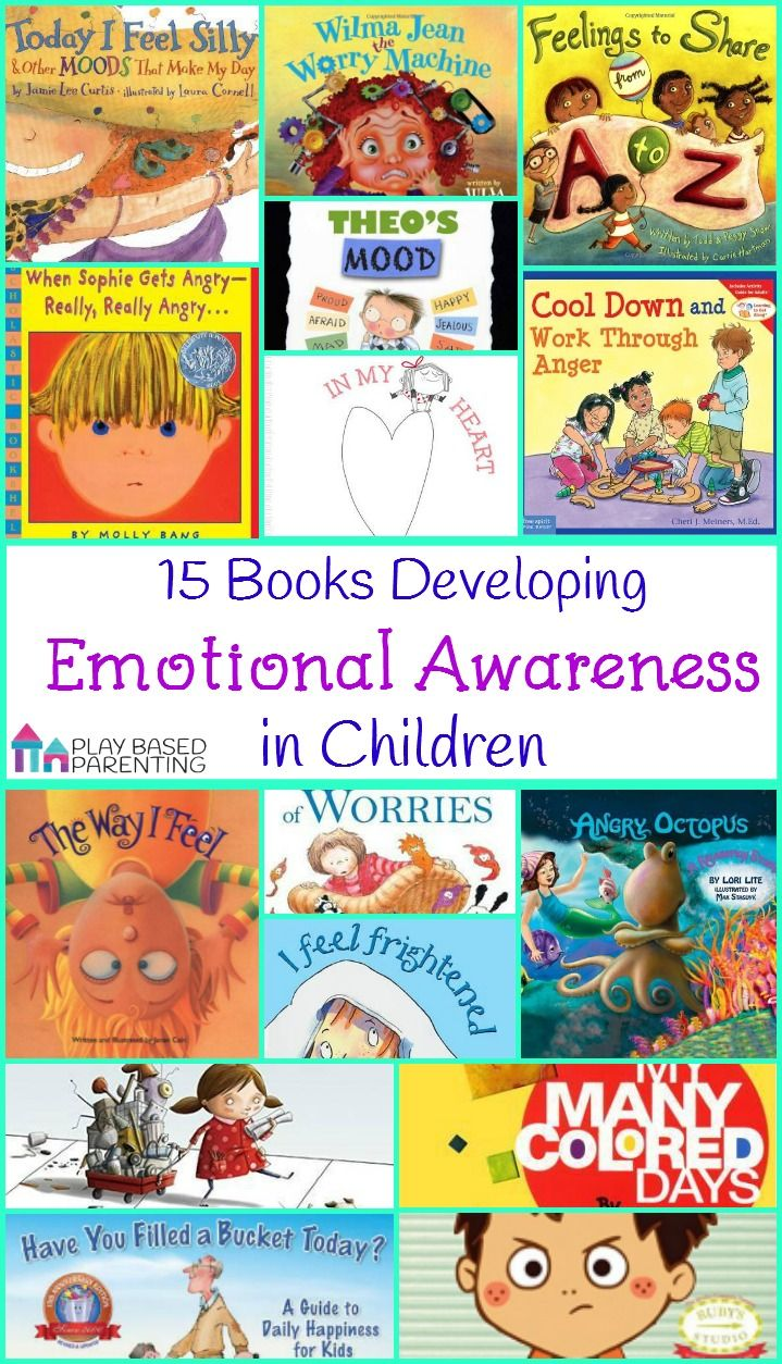 Books Developing Emotional Awareness in Children. Develop Emotional Intelligence and Empathy with these fantastic books.