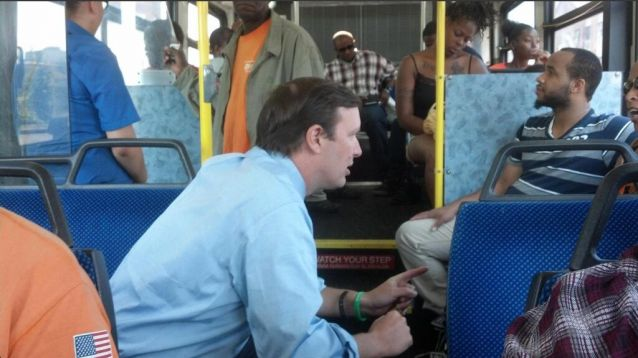 Senator Spends Vacation Day With Homeless Man To Learn About The Challenges He Faces -- Hope?