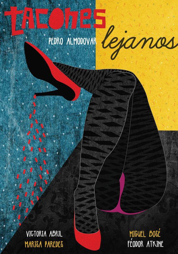 High Heels - Pedro Almodovar - Movie posters by Marija Markovic, via Behance