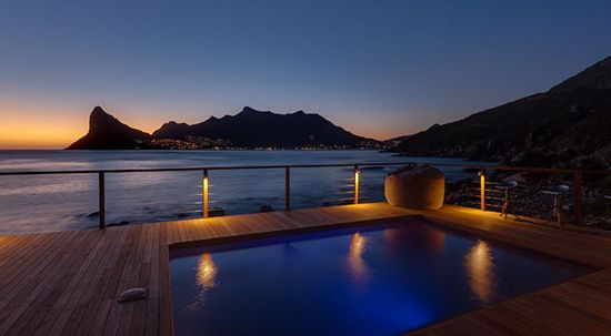Treat yourself to some 5 star luxury at Tintswalo Atlantic, perched on the ocean's shore in Hout Bay.  http://blog.suretravel.co.za/2013/02/romantic-destinations-in-south-africa.html