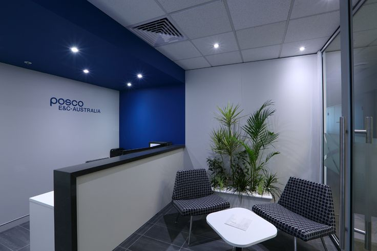 Posco Engineering Perth Office - Design and fit out of corporate reception and…