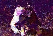 "New artwork for sale! - "" Calf Holstein Cattle Cow  by PixBreak Art "" - http://ift.tt/2tR8TyM"