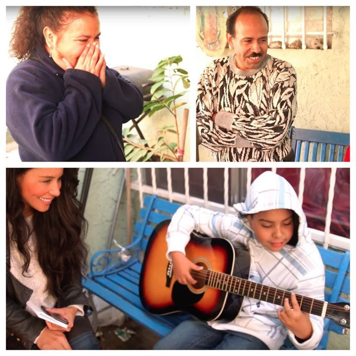 Jorge's parents were overwhelmed with tears when he started to play a few chords. Jorge said he never thought anyone would ever answer his letter and will remember this day for the rest of his life! What a special day for 10 year old Jorge who always dreamed of having his very own guitar! Thank you to Milagros Villare for adopting his letter and all who have participated in our program to bring these kids hope and joy! #KimberlyMooreFoundation #AdoptALetter