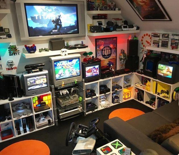 Geek Room Gaming Man Cave Geek Room Gaming Geek Geek Room
