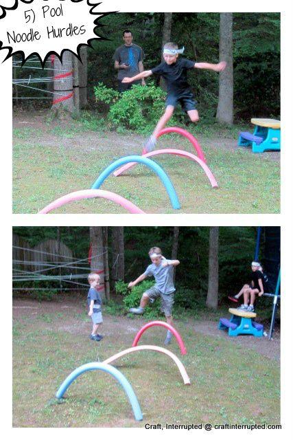 Obstacle course, Craft, Interrupted: Ninjago / Ninja Birthday Party