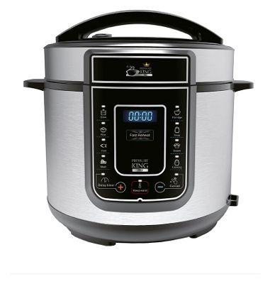 Buy Pressure King Pro – Electrical Pressure Cooker at Argos.co.uk, visit Argos.co.uk to shop online for Multi cookers