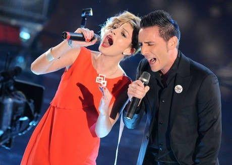Sul palco di Sanremo 2011