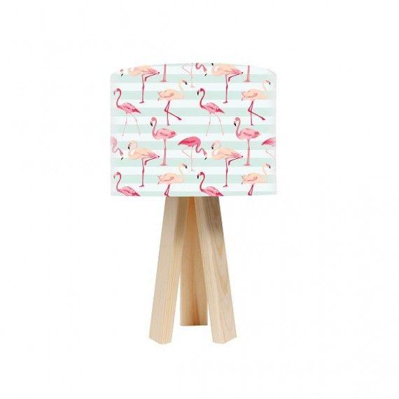 Macodesign Lampka nocna Flamingi - 2 kolory podstawy