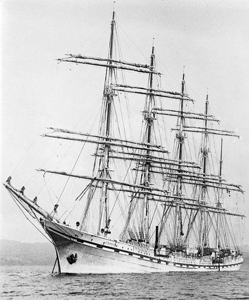 Les 3444 meilleures images du tableau tall ships sur for Le pamir nantes