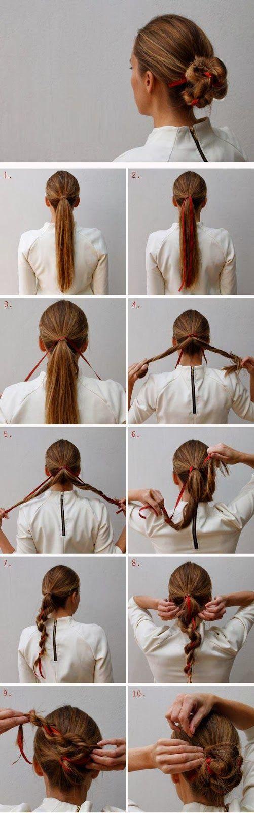Tutoriel coiffure facile