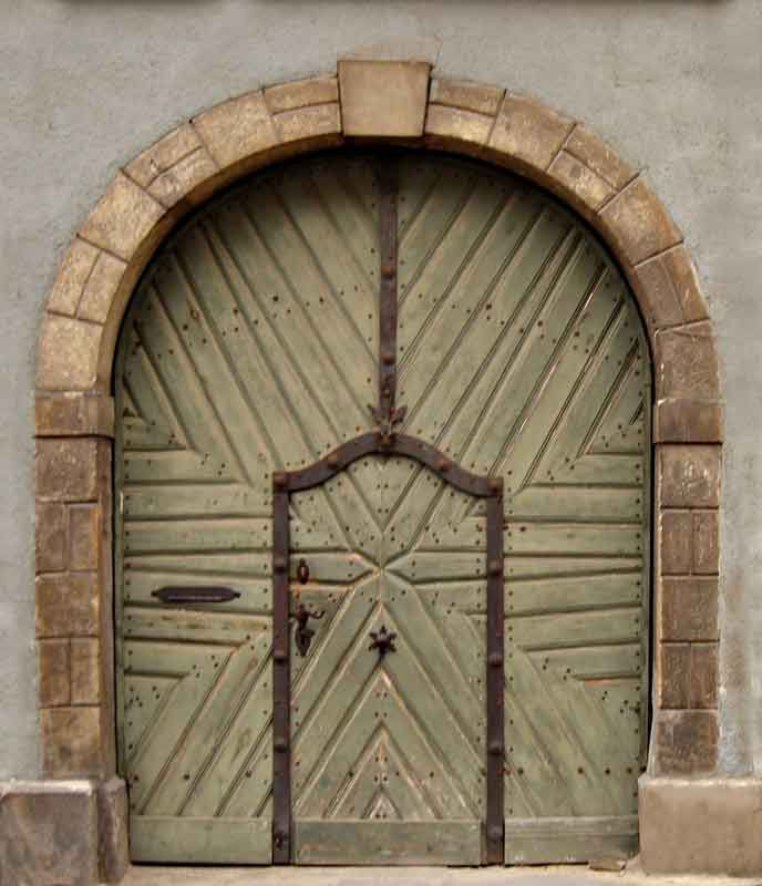 Medieval Front Doors: I Like Doors That Are Different