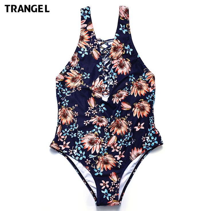 Find More One-Piece Suits Information about Trangel 2017 nwe arrival one piece swimsuit printed bikini swimwear lace up womens monokini bathing suit bikini sets EG506,High Quality suit tuxedo,China suit tag Suppliers, Cheap suit men from Trangel Official Store on Aliexpress.com