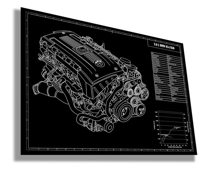 BMW N54 B30 Engine